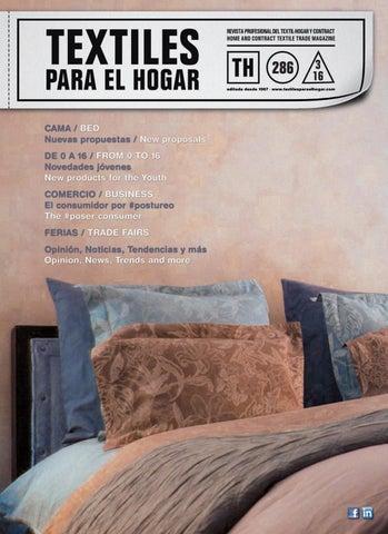 f9a52395703 Textiles para el Hogar nº286 by Publica SL - issuu