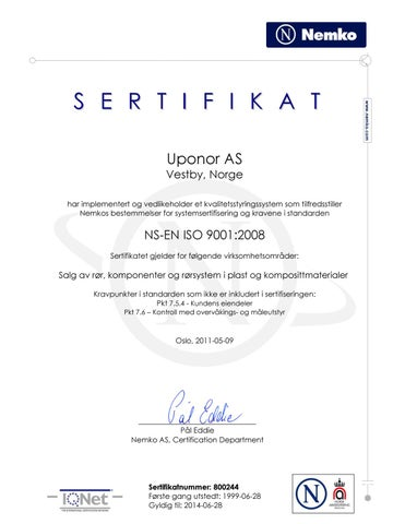 iso 9001 pdf norsk