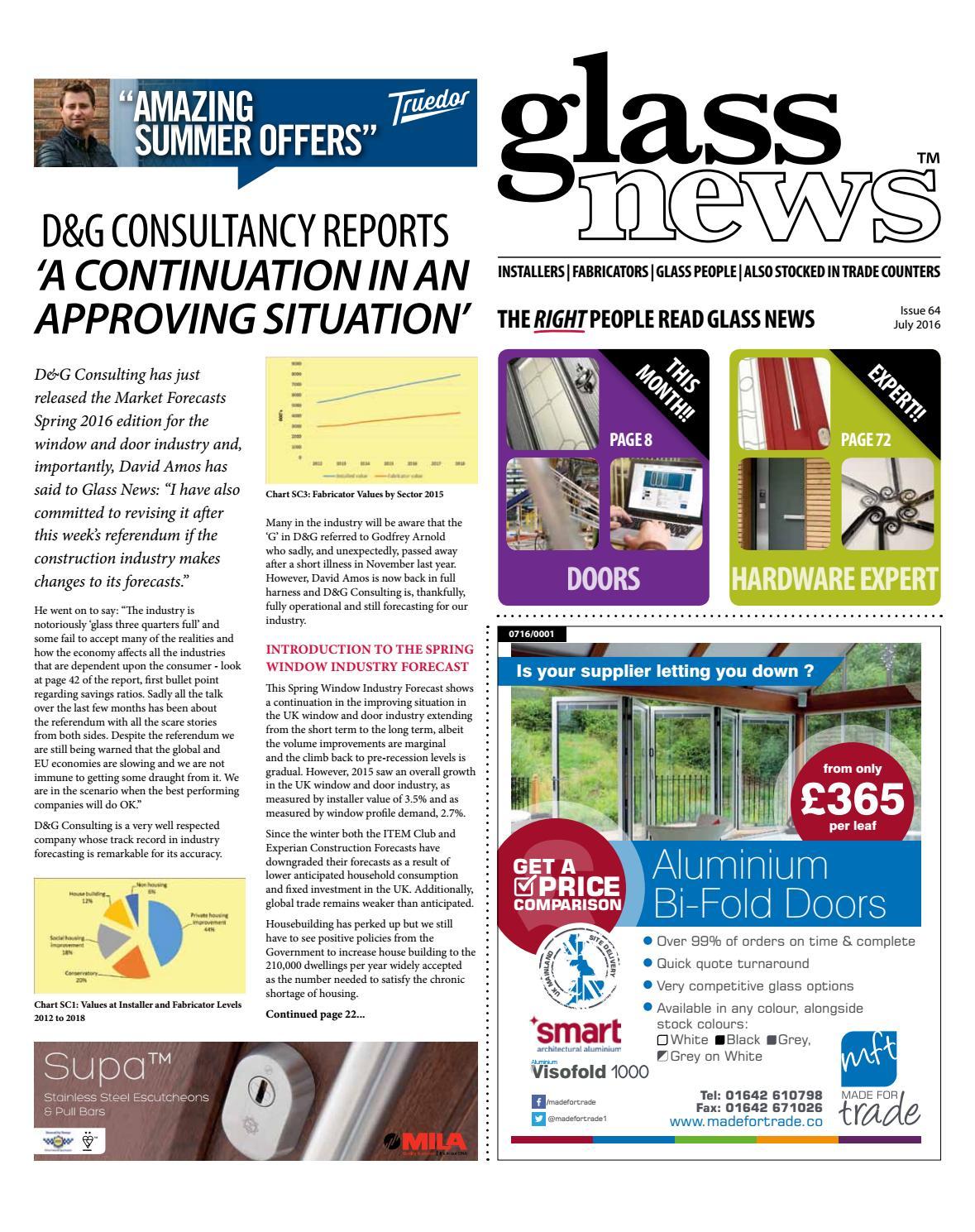 Glass News July 2016 by Christina Shaw - issuu