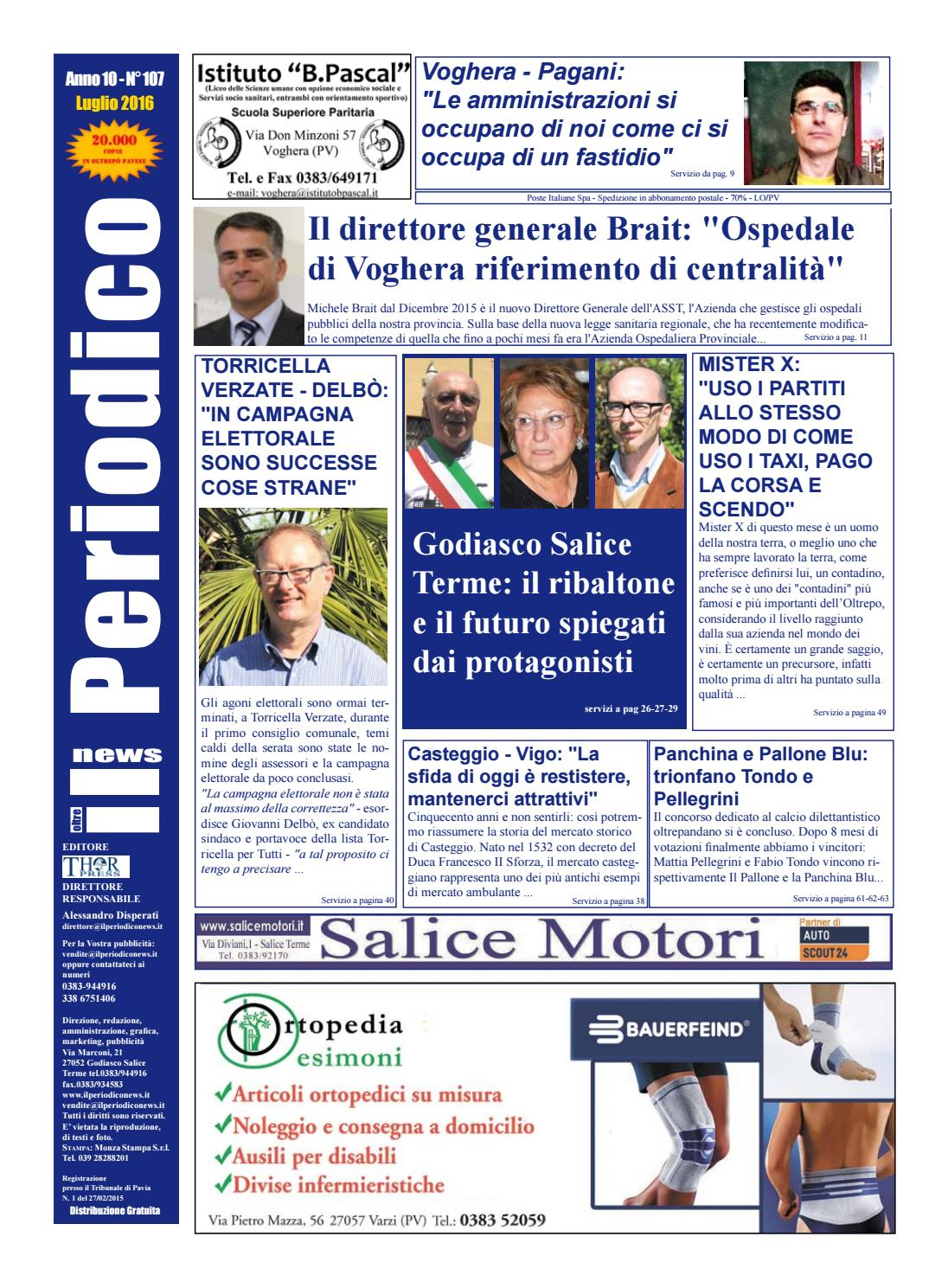 Il Periodico News LUGLIO 2016 By IlPeriodicoNews Issuu