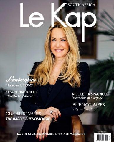 fb64739609e Le Kap - Winter 2016 edition by LE KAP - issuu