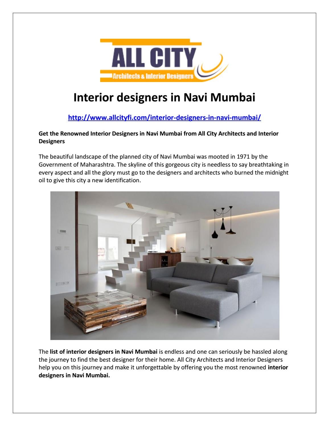 Interior Designers In Navi Mumbai By Mona95 Issuu