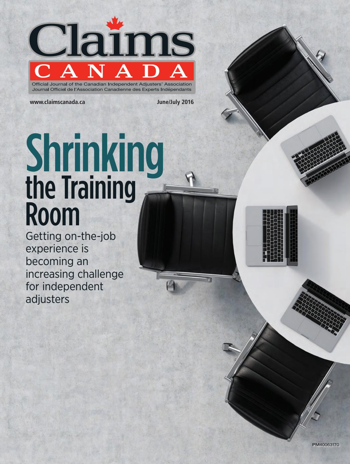 Claims Canada June July 2016 by Annex Business Media - issuu