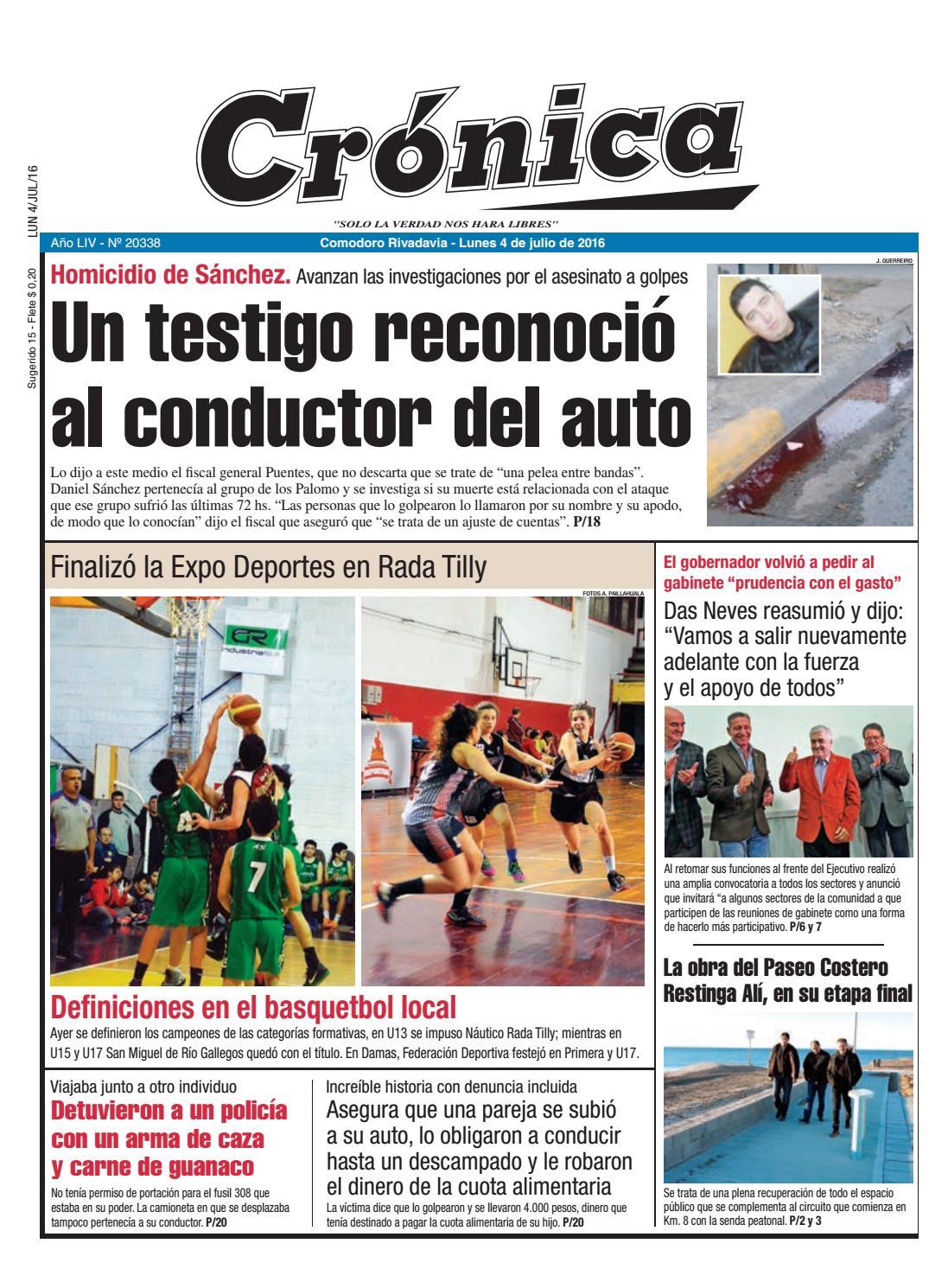 92ffedd11a4d0f2f8ddd7f59489a597d by Diario Crónica - issuu