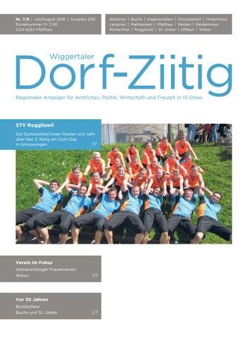 Dorf Ziitig_Juli, August 2016 By Wiggertaler Dorf Ziitig   Issuu