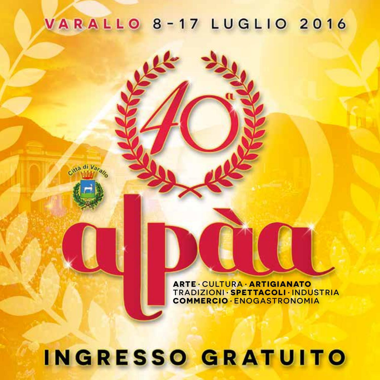 Schemi Elettrici Hormann : Alpaa 2016 programma ufficiale by pro loco varallo issuu