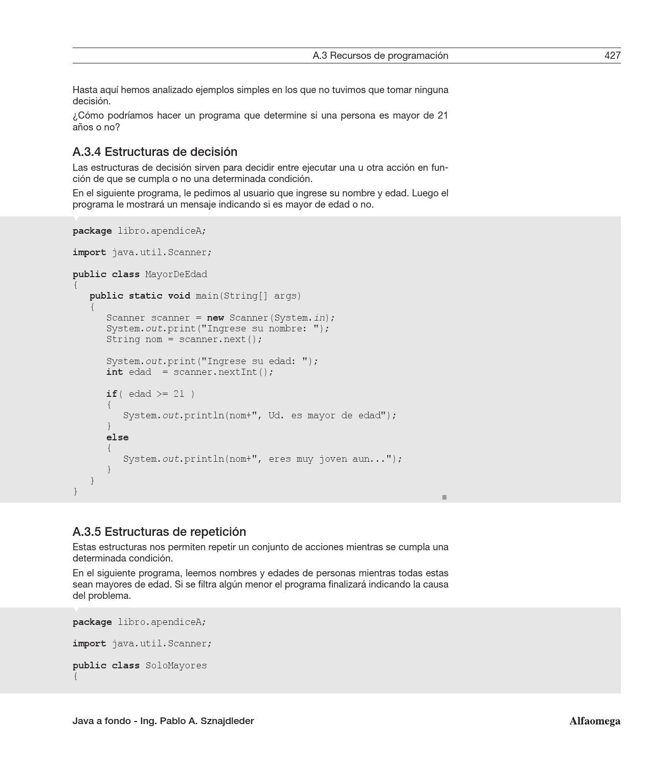Java A Fondo By Sergio Rivera Issuu