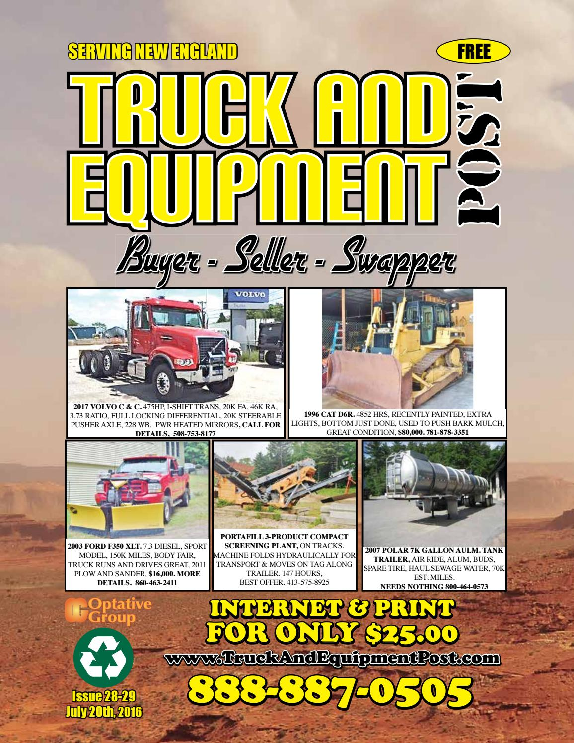 Truck Equipment Post 28 29 2016 By 1clickaway Issuu Pacar W900 Fuse Diagram 2001