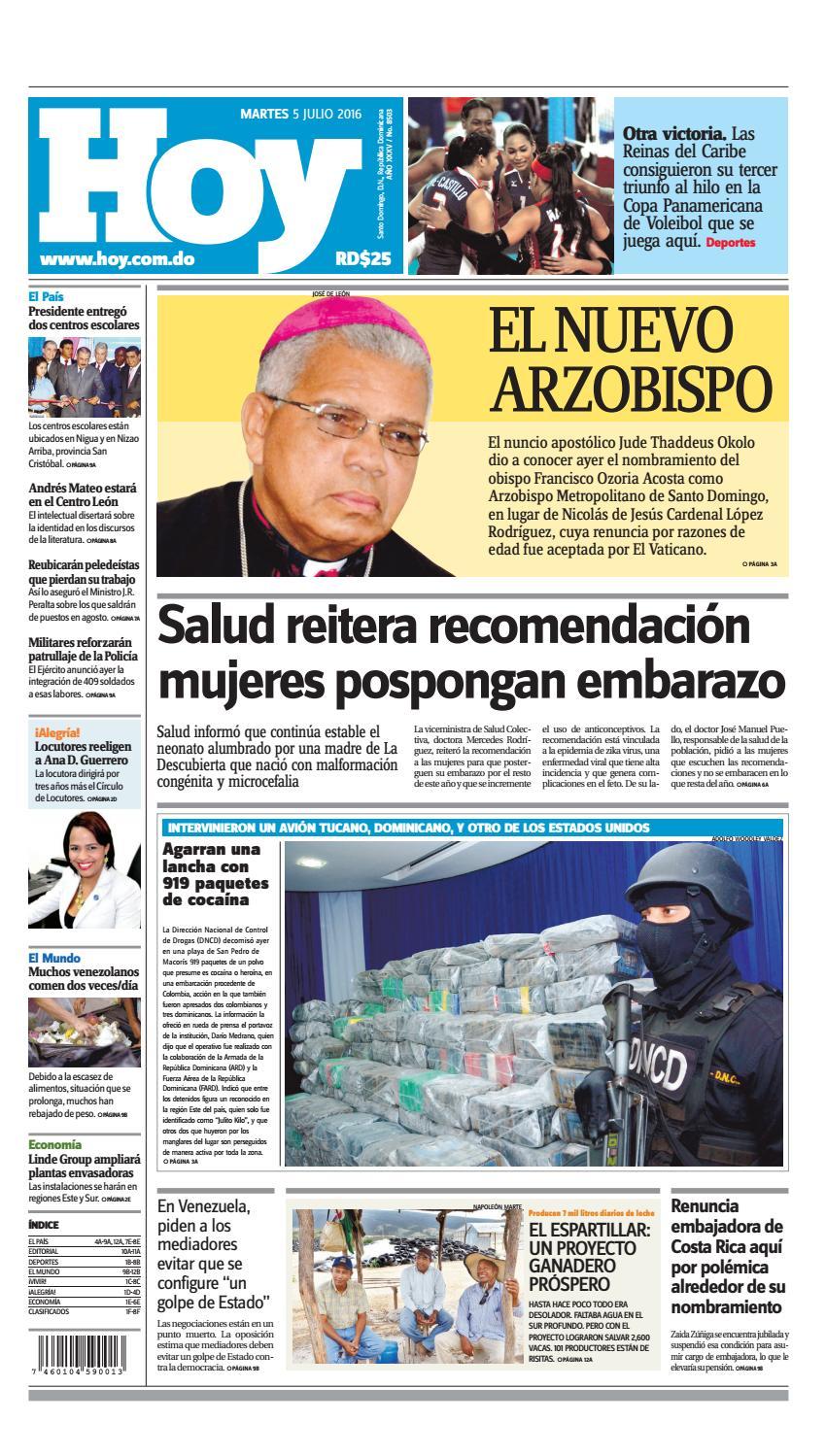 146377d06 Periódico 05 de julio, 2016 by Periodico Hoy - issuu