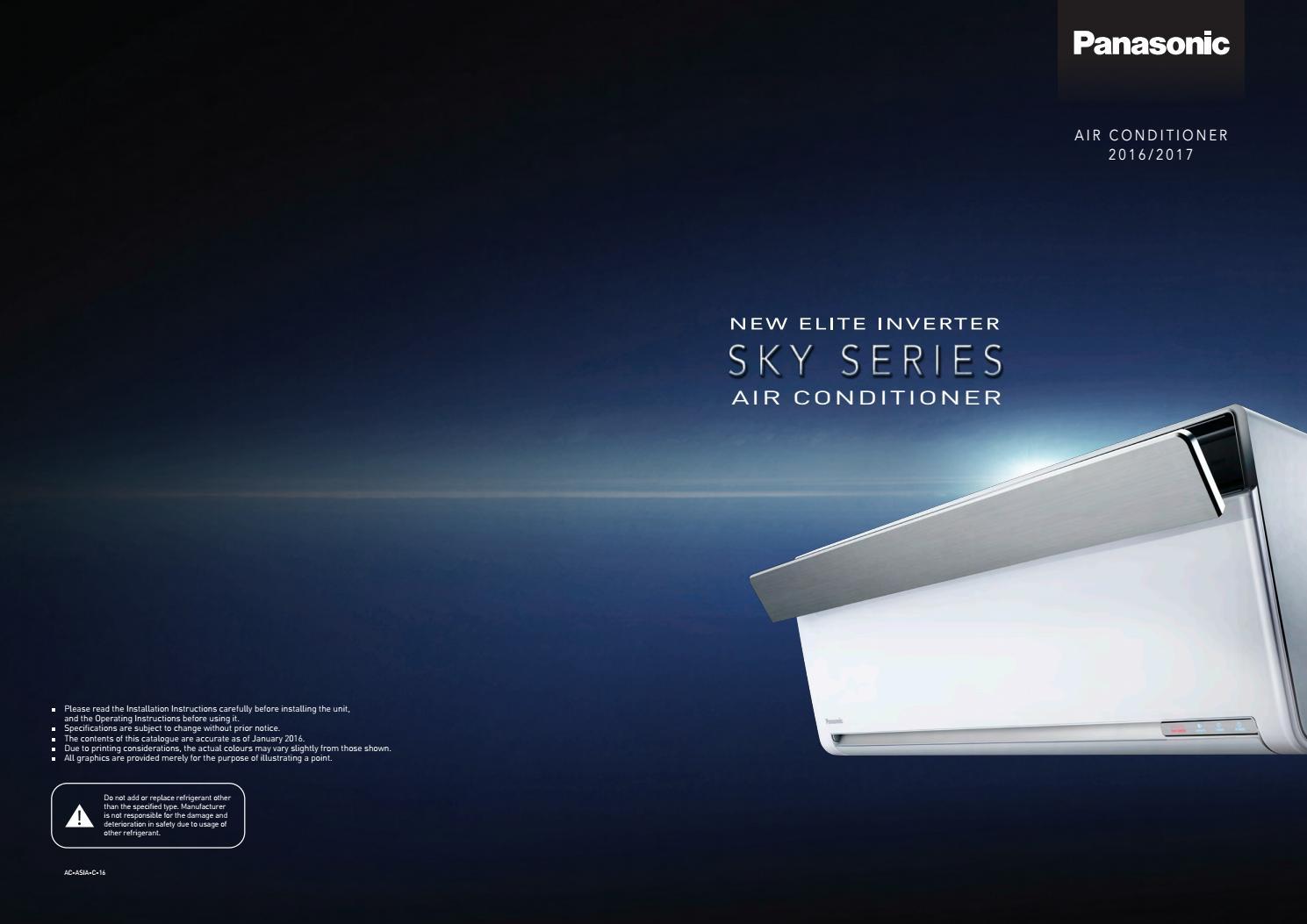 Panasonic Sky Series Air Conditioner 2016 By F W Shom Issuu