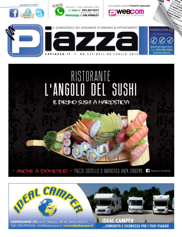 la Piazza 525 by la Piazza di Cavazzin Daniele - issuu 15dd31b0a787