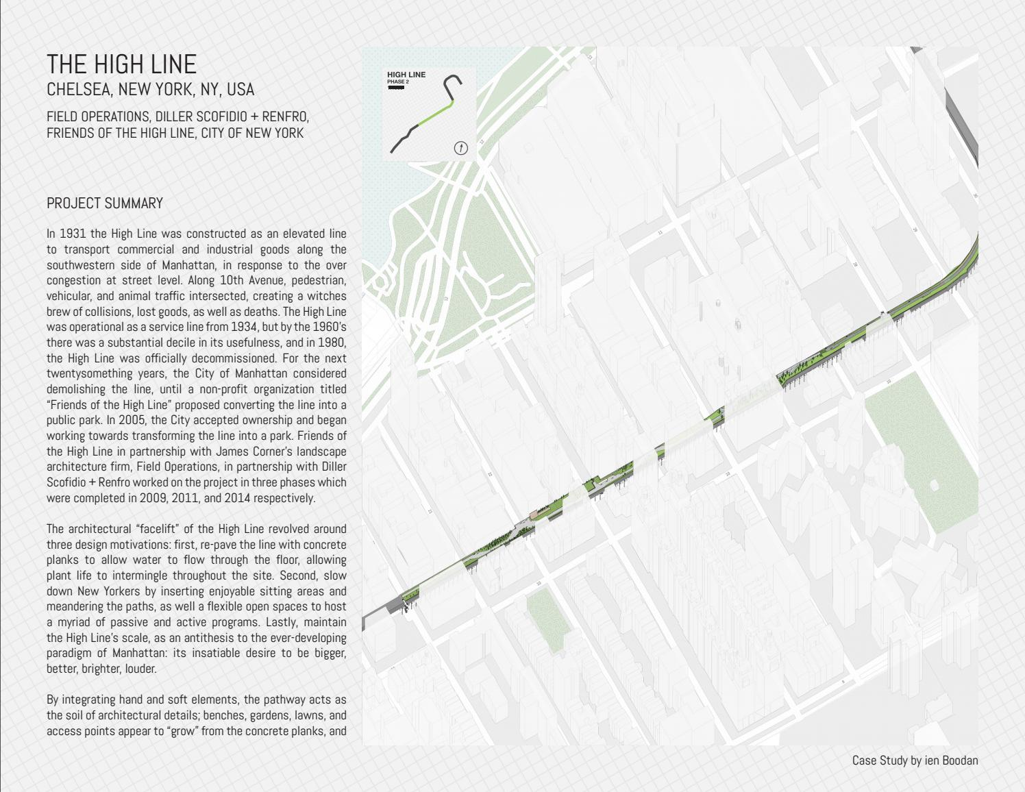 The High Line A Case Study By Ien Boodan Issuu
