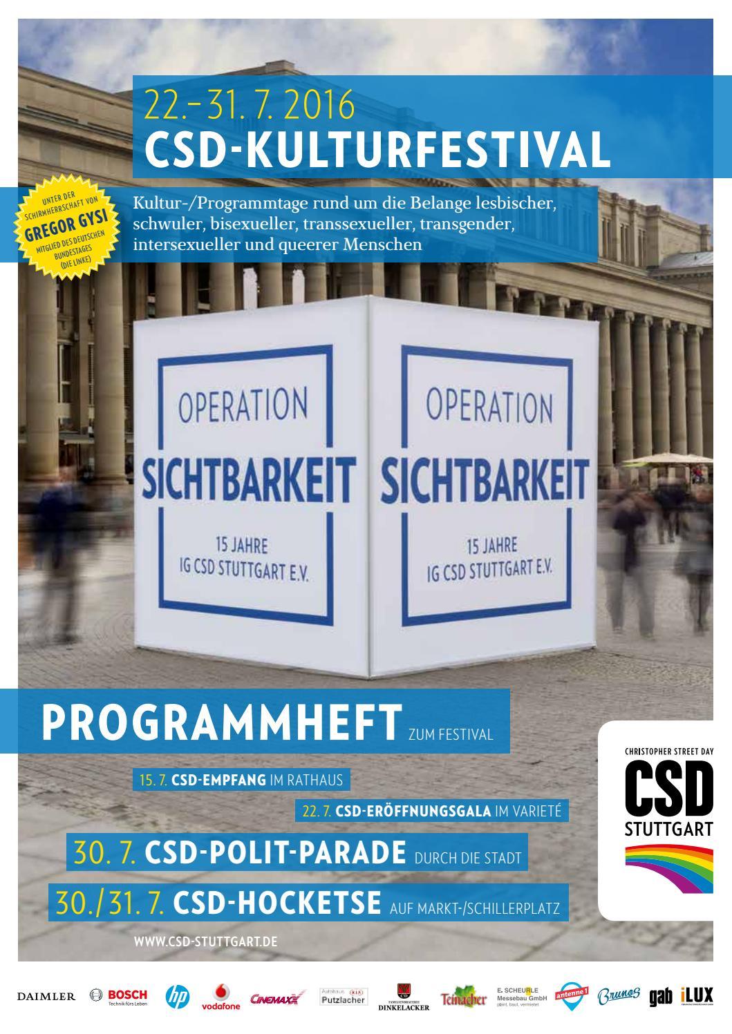 OPERATION SICHTBARKEIT - Programmheft zum Christopher Street Day ...