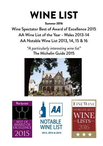 Park House Cardiff Wine List 2016 by Adam Pledger - issuu a2ff2793bdd3f