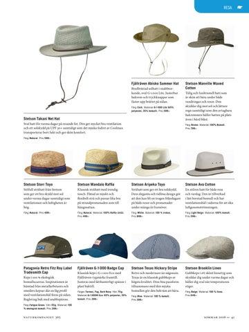 Page 41. RESA. Fjällräven Abisko Summer Hat ... d435030f0f0ef