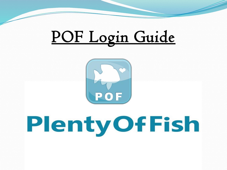 Login pof How To
