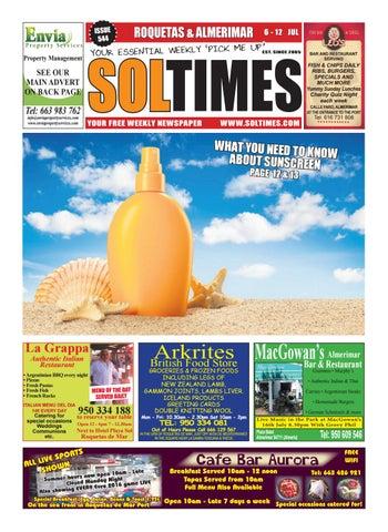 Roquetas 544 by Sol Times - issuu