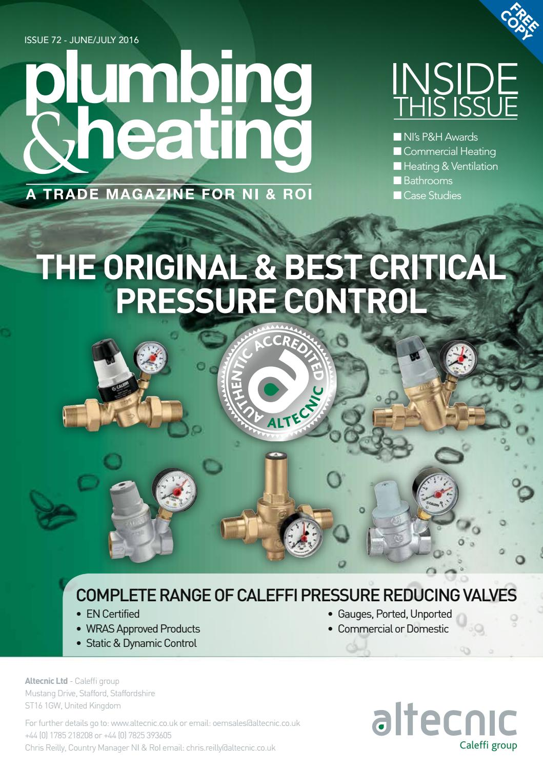 Plumbing and Heating Magazine Issue72 by Karen McAvoy Publishing - issuu