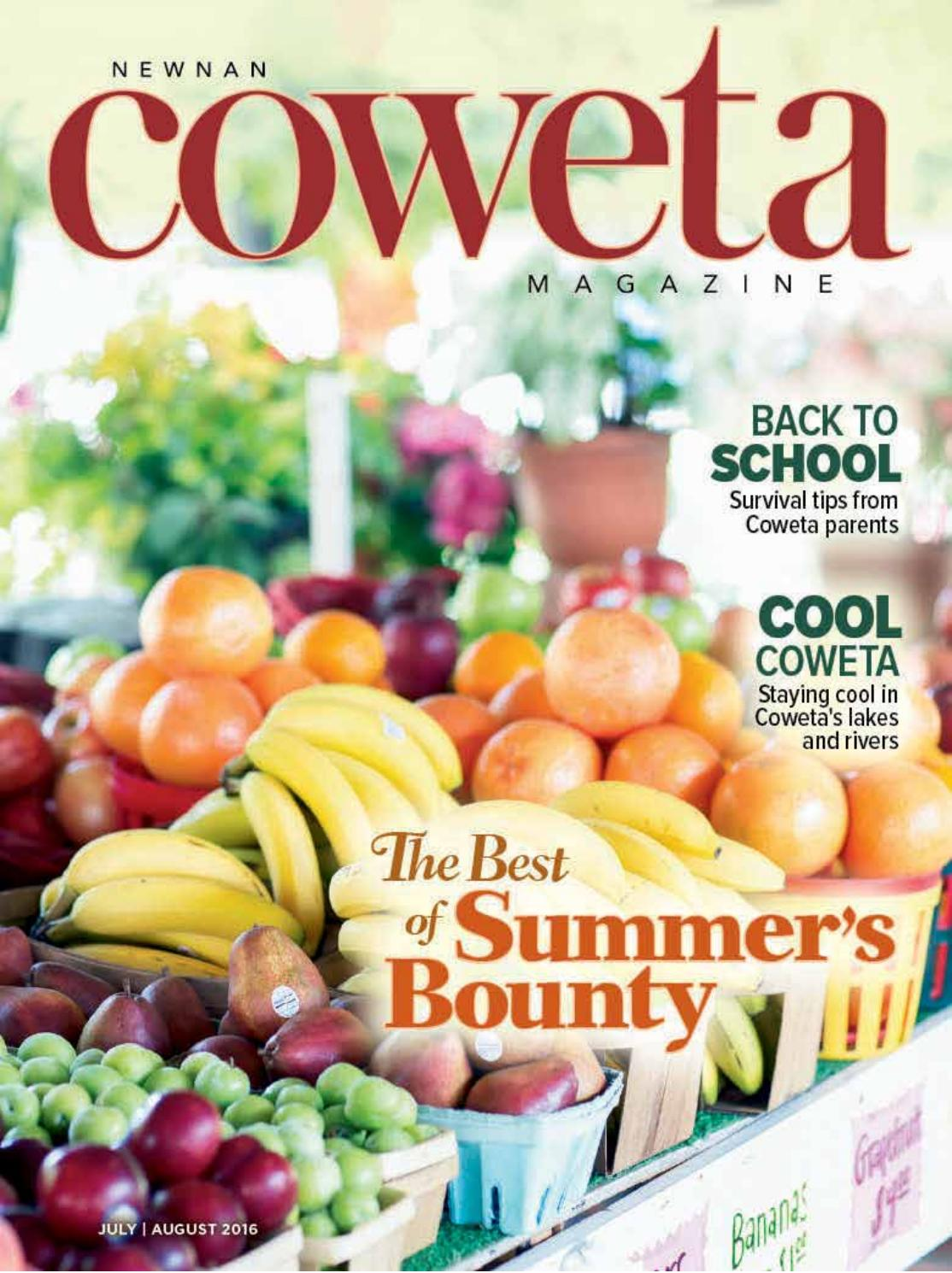 Julyaugust Newnan Coweta Magazine By The Times Herald Issuu