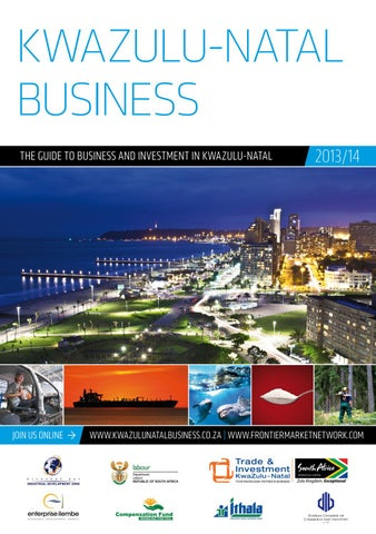 Kwazulu Natal Business 201314 By Global Africa Network Issuu