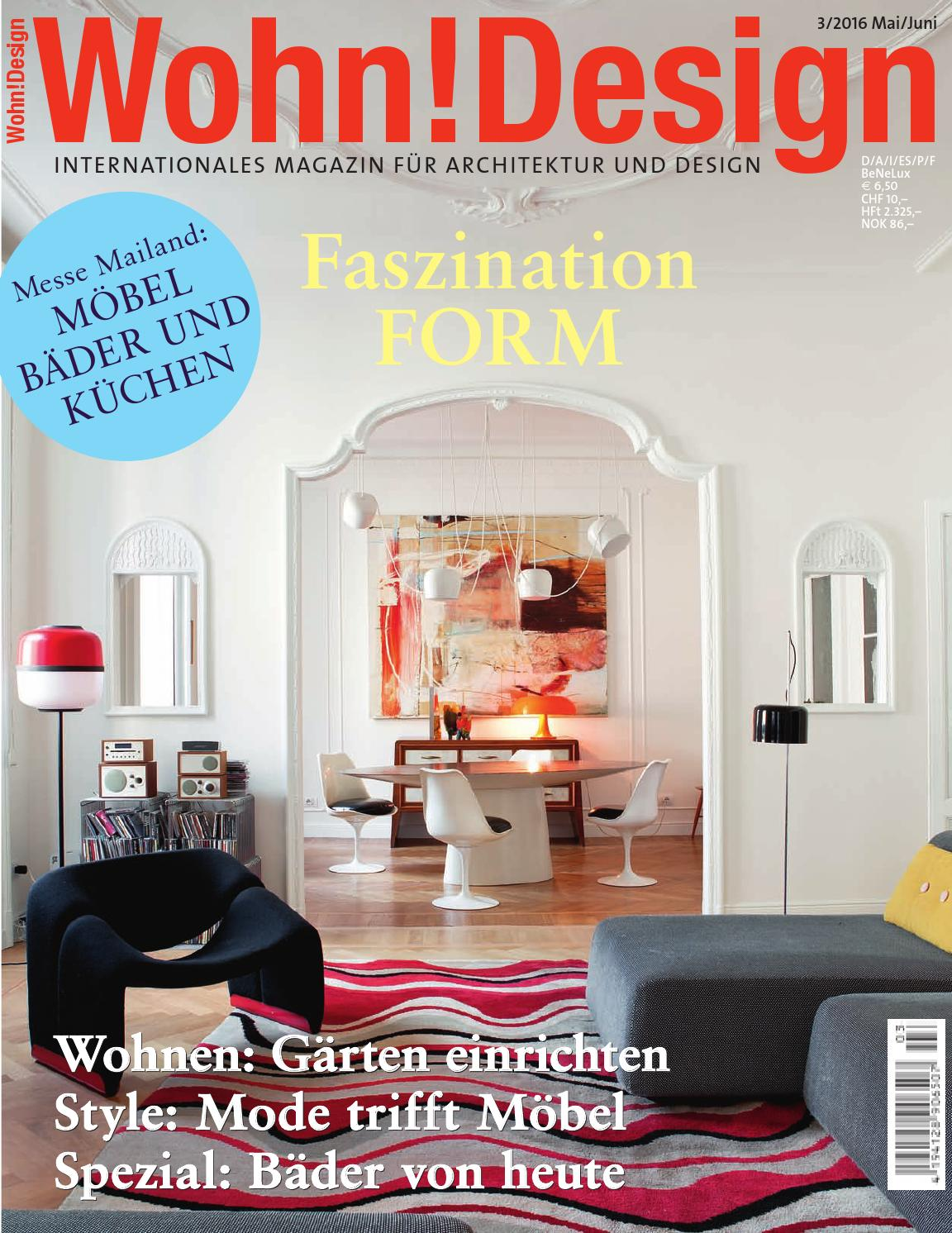 Wohn!Design 3/2016 by Wohn!Design - issuu