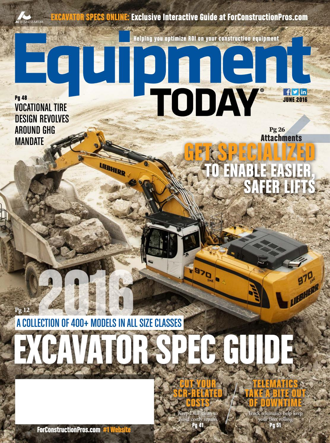 Equipment Today June 2016 by ForConstructionPros com - issuu