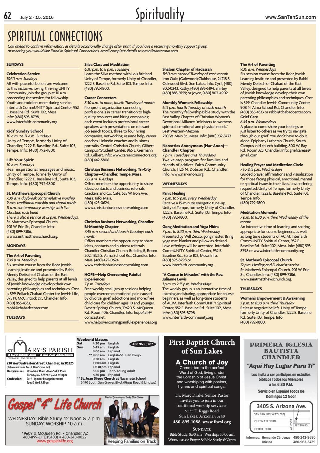 SanTan Sun News - July 2, 2016 by Times Media Group - issuu