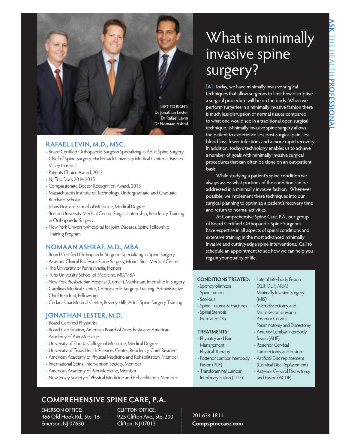 Bergen Health & Life: July/August 16 by Wainscot Media - issuu
