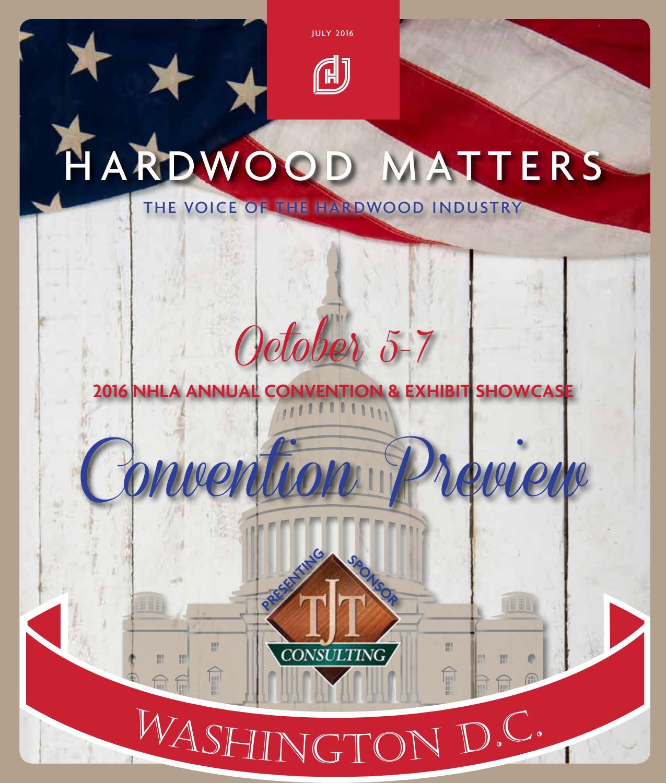 National Hardwood Lumber Association ~ July hardwood matters by national lumber
