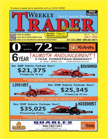 Weekly Trader July 7 2016 By Weekly Trader Issuu