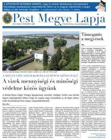 1ce8c20020 Pest Megye Lapja 2016. 1. évfolyam 5. szám by Pannónia kincsei - issuu