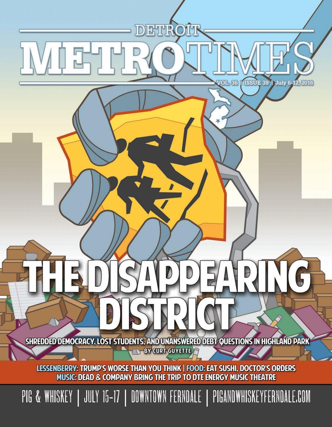 15cc4219ff7 Metro Times 070616 by Euclid Media Group - issuu