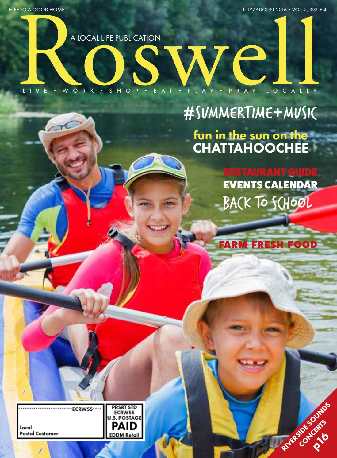 7e0d9e5fecb Roswell Magazine (July Aug 2016) by Local Life Publishing - issuu
