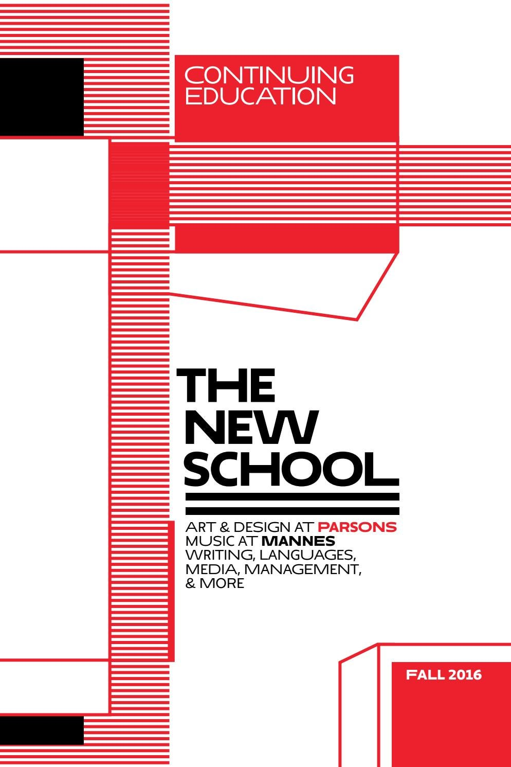 The New School | Continuing Education Catalog | Fall 2016 by The New ...