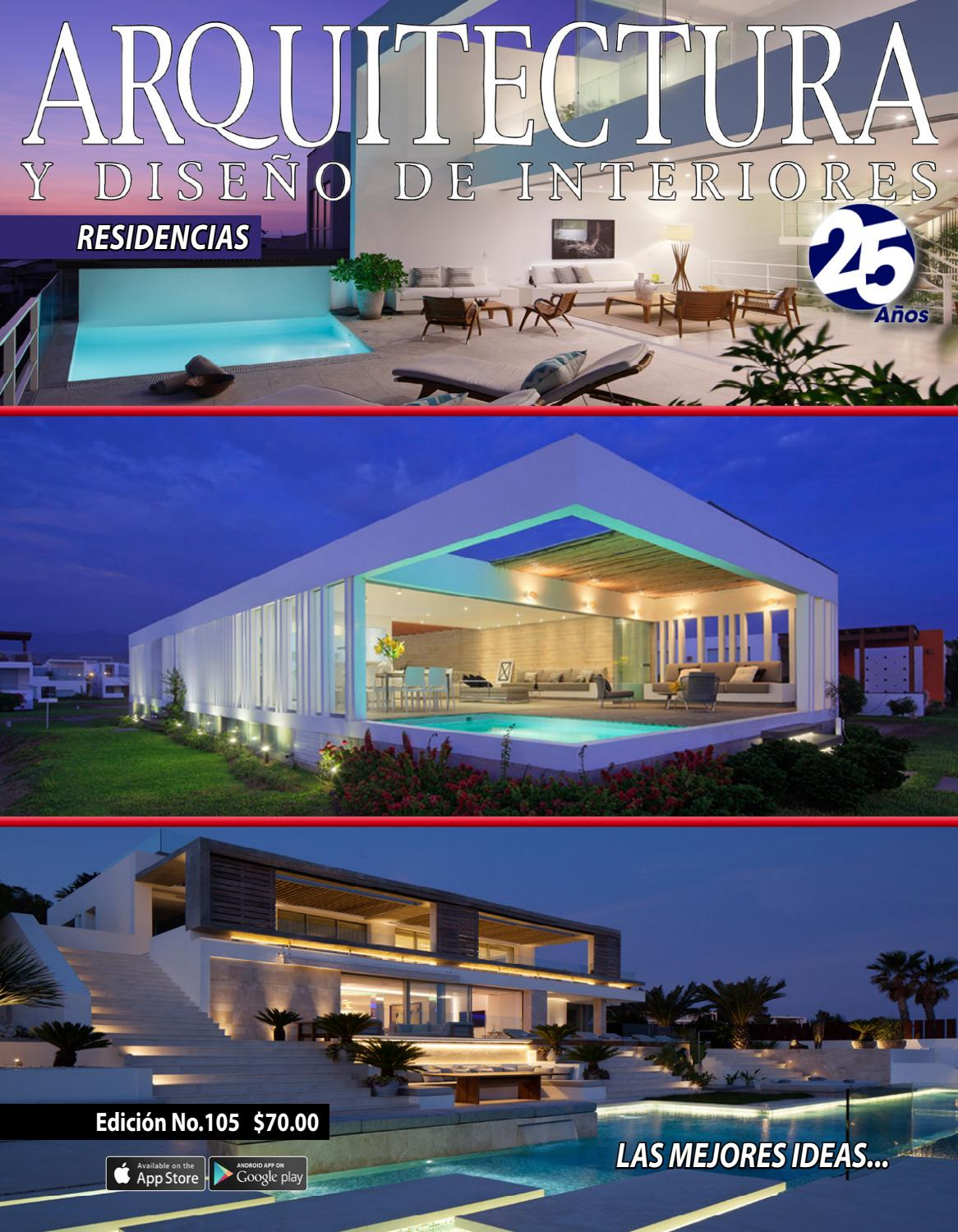 Arquitectura y dise o de interiores 105 by arquitectura y - Diseno y arquitectura de interiores ...