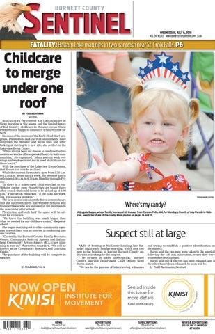 Burnett County Sentinel 7616 By