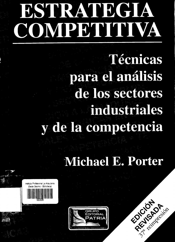 Estrategia competitiva michael porter pdf editor