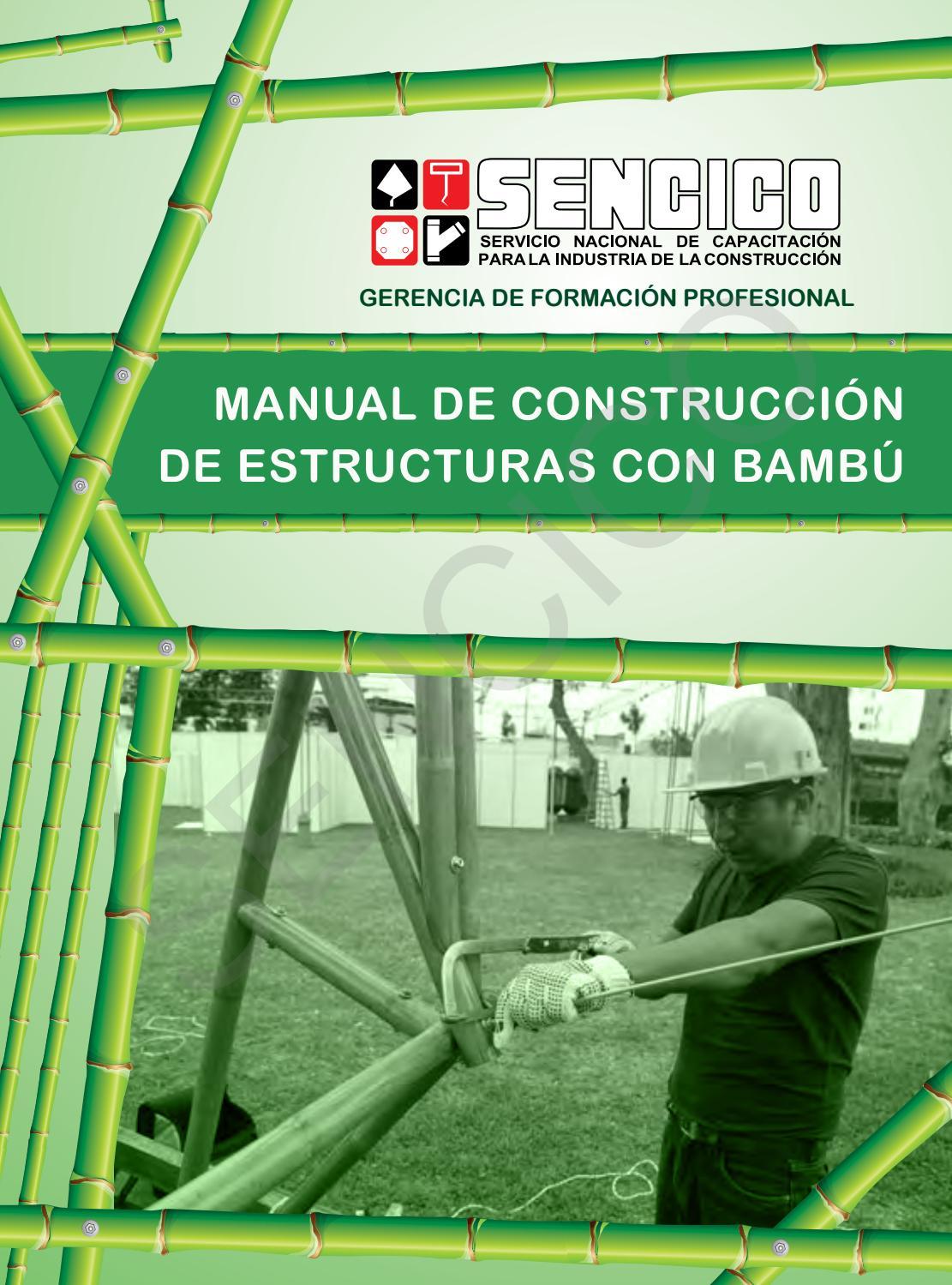 Manual de construcci n de estructuras de bamb by george - Reproduccion del bambu ...
