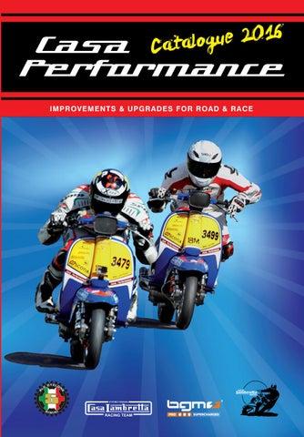 Lambretta GP DL SX LI TV 125 150 175 200 Magneto MAG Flywheel Housing Flange