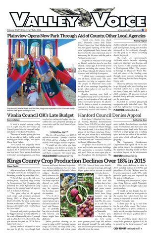 Valley Voice Issue 72 (7 July, 2016)