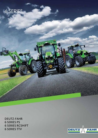 Learned 2 Deutz Fahr Tractor Brochures Choice Materials Other Tractor Publications