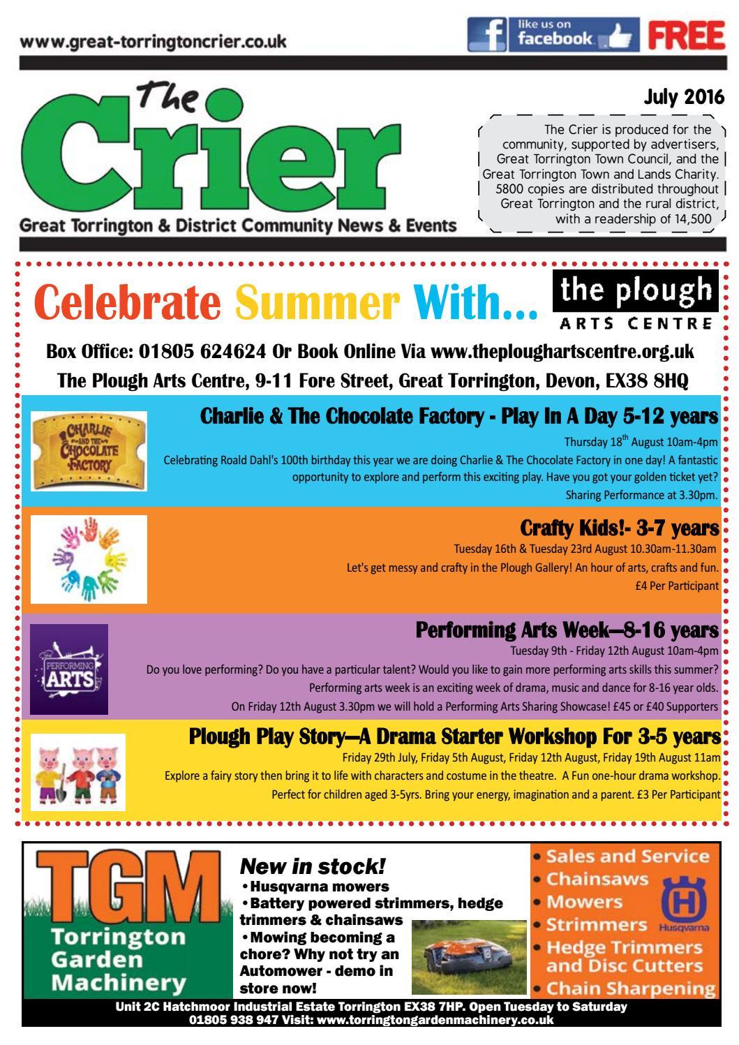 July Crier 2016 by The Torrington Crier - issuu