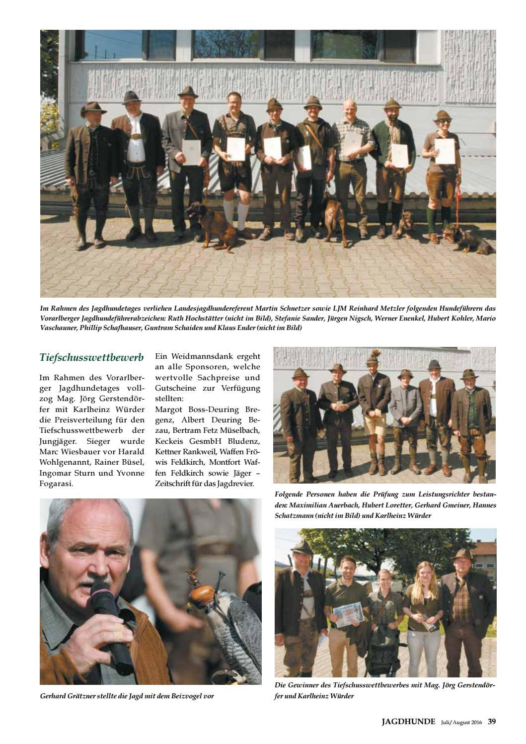 Vorarlberger Jagdzeitung Juli August 2016 by Vorarlberger ...