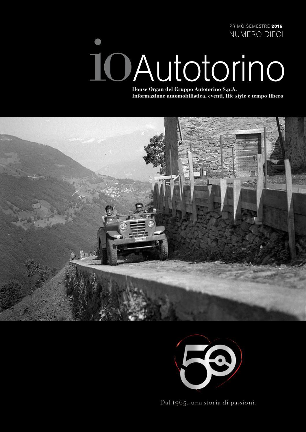 Io Autotorino numero 10 by Autotorino - issuu 617bbd6bdead