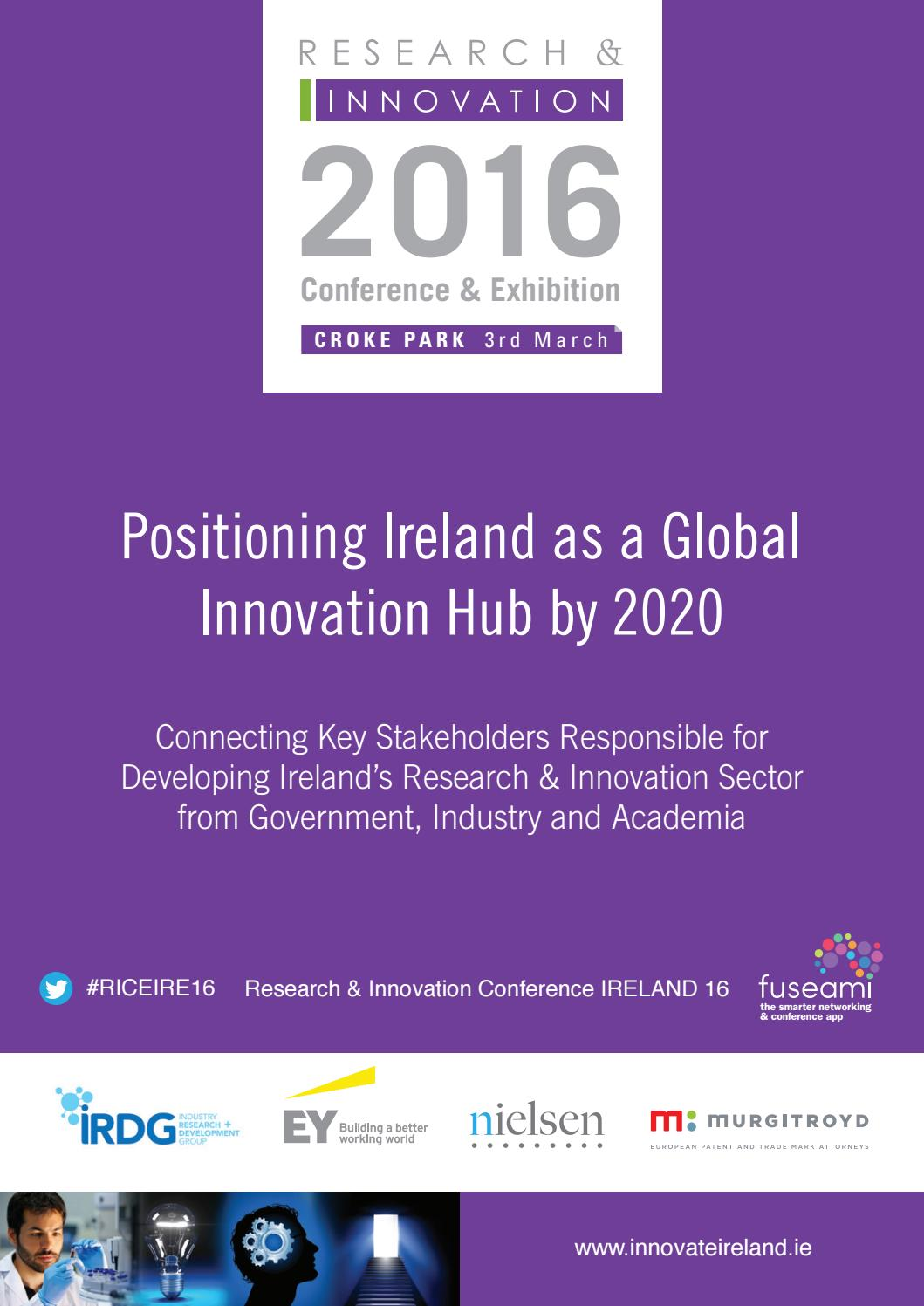 Research And Development Brochure 2016 By Colin Murphy Issuu