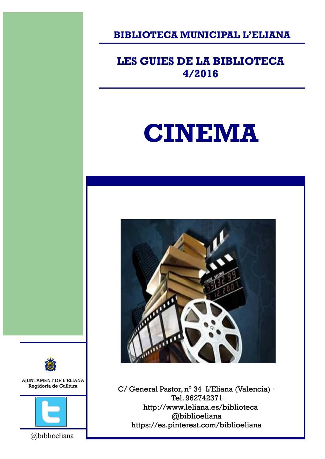 Guia cinema 4 2016 by biblioteca l 39 eliana issuu - Biblioteca l eliana ...