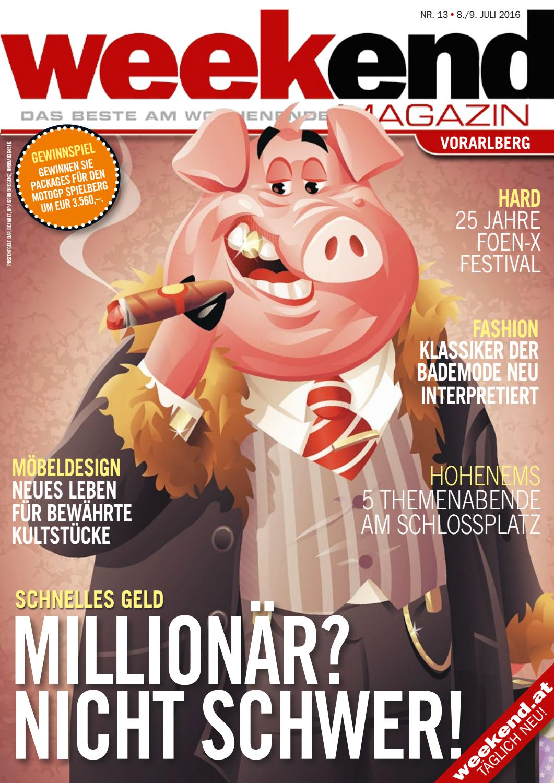 Weekend Magazin Vorarlberg 2016 KW 27 by Weekend Magazin Vorarlberg ...