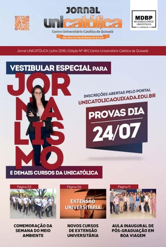 6b8523baa85 Jornal Unicatólica - Edição 49
