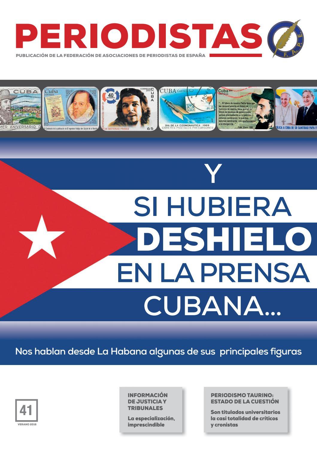 La Prensa En Cuba Ante Un Posible Deshielo En El N Mero 41 De La  # Muebles Lainar Talavera Dela Reina