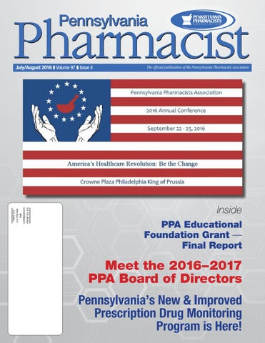 pa pharmacist july august 2016 by graphtech issuu